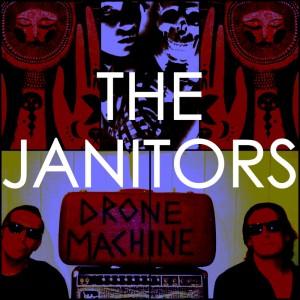 Janitors-drone machine billede